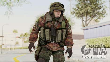 Battery Online Russian Soldier 9 v1 pour GTA San Andreas