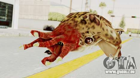 Bullsquid from Half-Life 1 pour GTA San Andreas