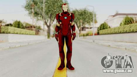 Captain America Civil War - Iron Man für GTA San Andreas zweiten Screenshot
