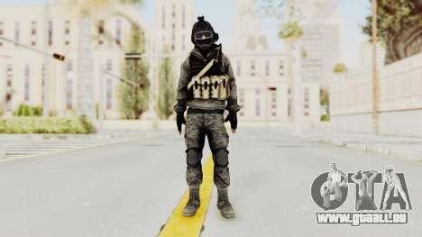 Battlefiled 3 Russian Medic pour GTA San Andreas deuxième écran