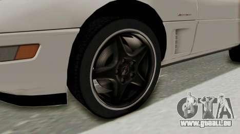 Chevrolet Corvette C4 1996 pour GTA San Andreas vue arrière