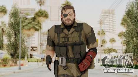 MGSV The Phantom Pain Venom Snake Olive Drab für GTA San Andreas