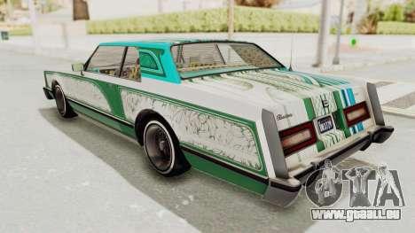 GTA 5 Dundreary Virgo Classic Custom v1 pour GTA San Andreas