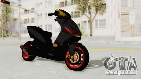 Honda Vario Concept 200CC für GTA San Andreas rechten Ansicht