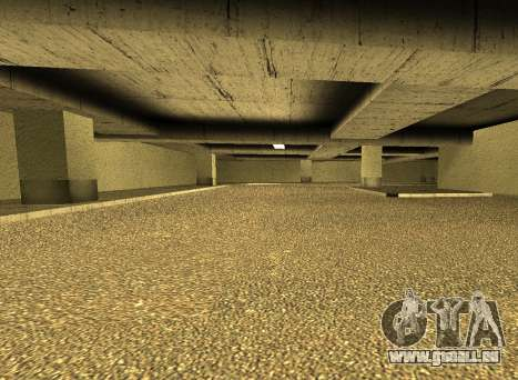 LSPD New Garage pour GTA San Andreas