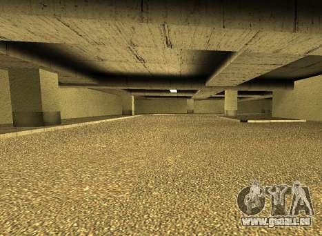 LSPD New Garage für GTA San Andreas
