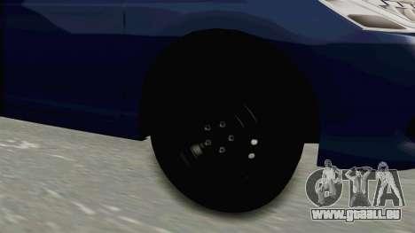 Honda Accord 2017 pour GTA San Andreas vue arrière