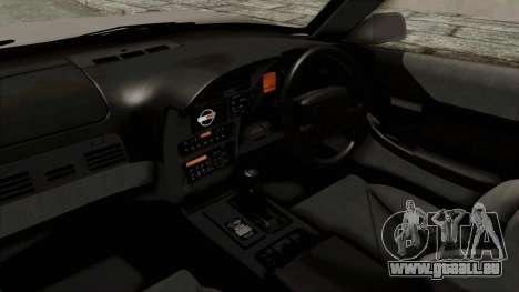 Chevrolet Corvette C4 1996 pour GTA San Andreas vue intérieure