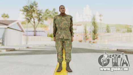 MGSV Ground Zeroes US Soldier No Gear v1 pour GTA San Andreas deuxième écran