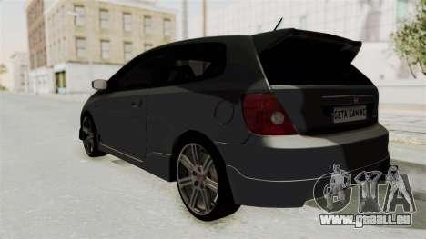 Honda Civic Type R EP3 für GTA San Andreas linke Ansicht