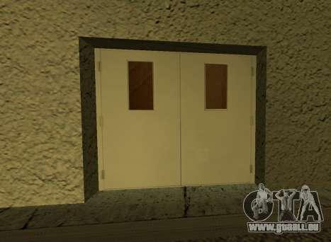 LSPD New Garage pour GTA San Andreas quatrième écran