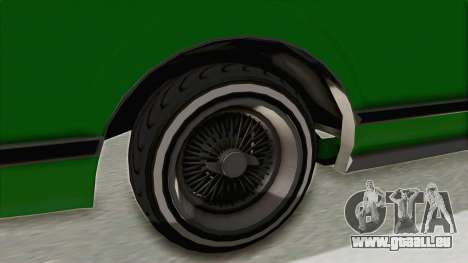 GTA 5 Dundreary Virgo Classic Custom v1 für GTA San Andreas Rückansicht