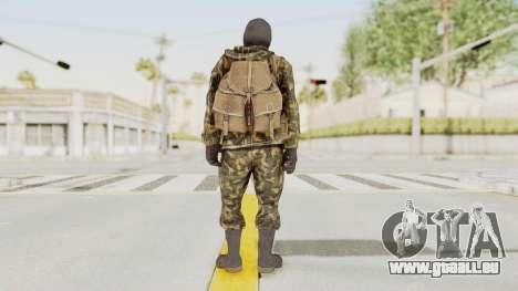 COD Black Ops Russian Spetznaz v5 pour GTA San Andreas troisième écran