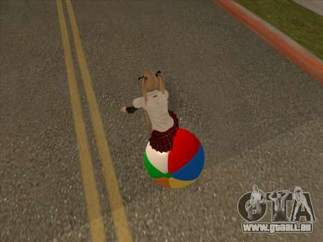 Beachball pour GTA San Andreas vue de droite