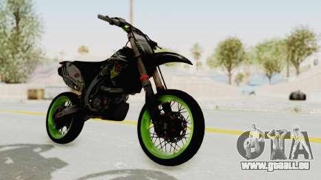 Kawasaki KX 125 Supermoto pour GTA San Andreas