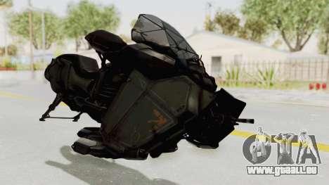 CoD Advanced Warfare - Hover Bike pour GTA San Andreas vue de droite
