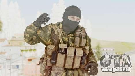 COD Black Ops Russian Spetznaz v5 pour GTA San Andreas