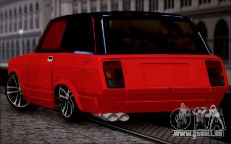 VAZ 2104 Micro pour GTA San Andreas laissé vue