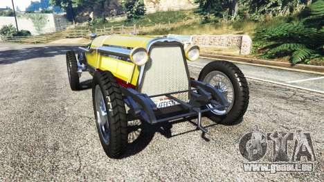 Fiat Mefistofele v1.2 [black tires] für GTA 5