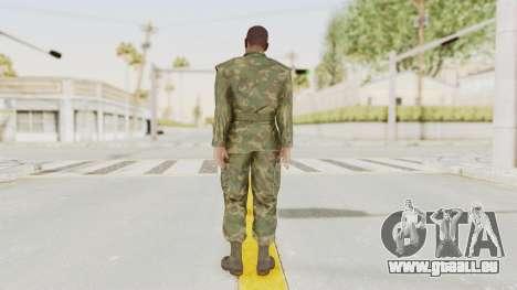 MGSV Ground Zeroes US Soldier No Gear v1 pour GTA San Andreas troisième écran