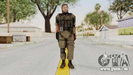 MGSV The Phantom Pain Venom Snake No Eyepatch v1 pour GTA San Andreas deuxième écran