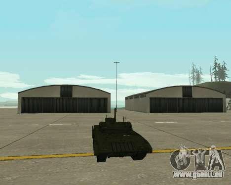 T-14 Armata für GTA San Andreas Innenansicht
