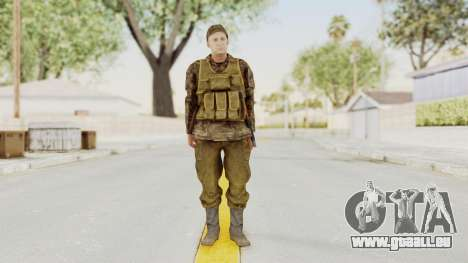 MGSV The Phantom Pain Soviet Union Vest v1 für GTA San Andreas zweiten Screenshot