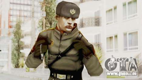 Russian Solider 1 from Freedom Fighters für GTA San Andreas