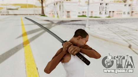 Liberty City Stories - Katana für GTA San Andreas dritten Screenshot