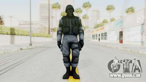 Batman Arkham Origins Swat für GTA San Andreas zweiten Screenshot
