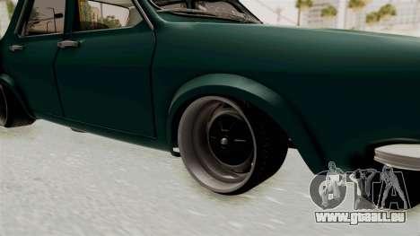 Dacia 1300 Order pour GTA San Andreas vue arrière