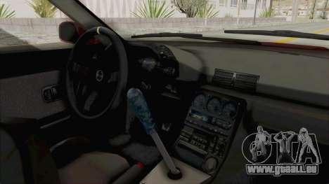 Nissan Skyline NAR32 pour GTA San Andreas vue intérieure