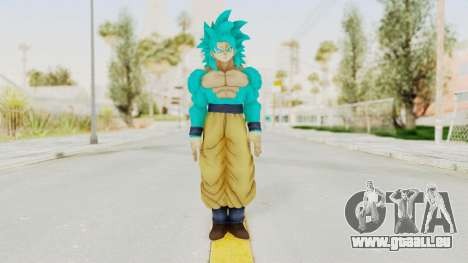 Dragon Ball Xenoverse Goku SSJ4 SSGSS für GTA San Andreas zweiten Screenshot