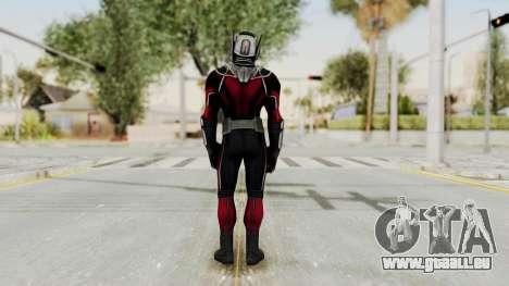Captain America Civil War - Ant-Man pour GTA San Andreas troisième écran