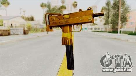 MAC-10 Gold pour GTA San Andreas
