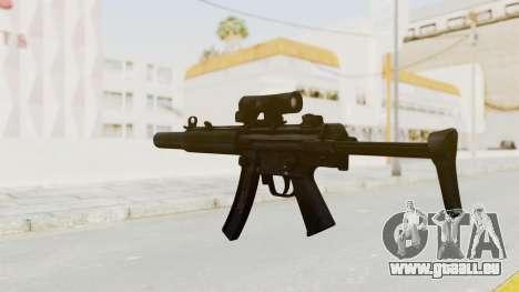 MP5SD pour GTA San Andreas troisième écran