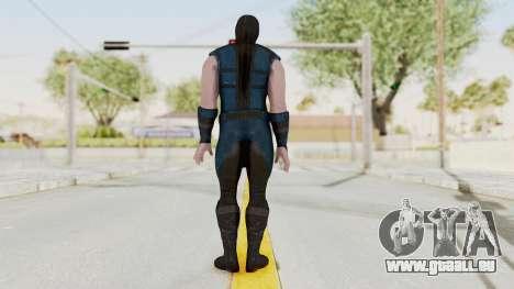 Mortal Kombat X Klassic Sub Zero v1 pour GTA San Andreas troisième écran