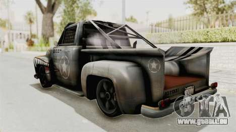 GTA 5 Slamvan Race PJ2 für GTA San Andreas linke Ansicht