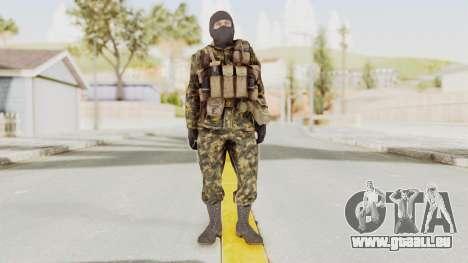 COD Black Ops Russian Spetznaz v5 pour GTA San Andreas deuxième écran