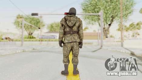 COD Black Ops Russian Spetznaz v2 pour GTA San Andreas troisième écran