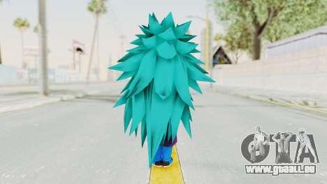 Dragon Ball Xenoverse Gohan Teen DBS SSGSS3 v1 für GTA San Andreas dritten Screenshot