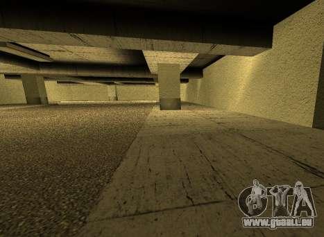 LSPD New Garage pour GTA San Andreas cinquième écran