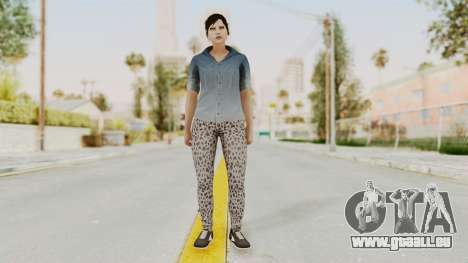 Skin Female from GTA 5 Online pour GTA San Andreas deuxième écran