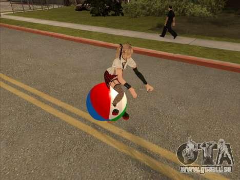 Beachball pour GTA San Andreas laissé vue