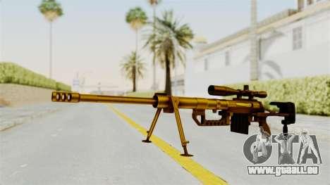 Cheytac M200 Intervention Gold für GTA San Andreas