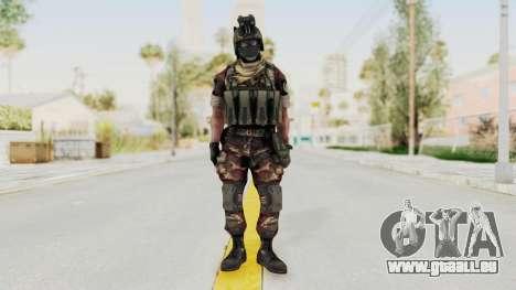 Battery Online Russian Soldier 3 v1 für GTA San Andreas zweiten Screenshot