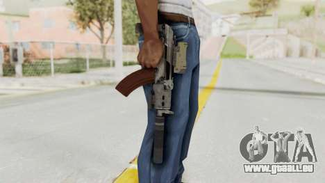 Combat SMG für GTA San Andreas