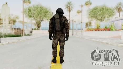 CoD MW3 Russian Military SMG v3 für GTA San Andreas dritten Screenshot