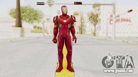 Marvel Future Fight - Iron Man (Civil War) pour GTA San Andreas deuxième écran