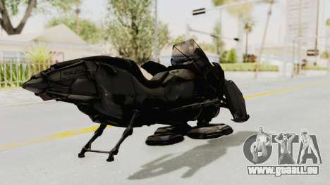 CoD Advanced Warfare - Hover Bike für GTA San Andreas zurück linke Ansicht
